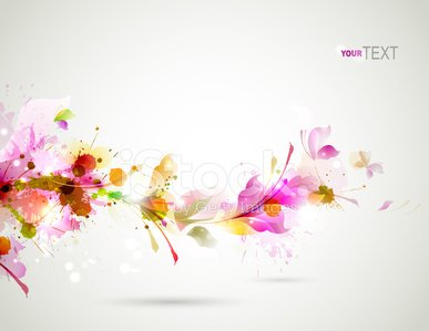 Flower,Backgrounds,Abstract,Poster,Image,Pink Color,Design Element,Creativity,Season,Autumn,Ilustration,Blob,Vector,Painted Image,Magenta,Computer Graphic