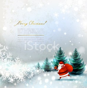 Landscape,Christmas Present,Winter,Box - Container,Santa Claus,Christmas Card,Backgrounds,Snow,Creativity,Greeting Card,Pine Tree,Blue,Fir Tree,Snowflake,Composition,Design,Vector,Christmas,Gift Box,Gift,Holiday,Celebration,Beauty In Nature,Congratulating