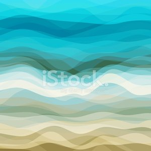 Wave Pattern,Beach,Pattern,Vector,Backgrounds,Water,Abstract,Multi Colored,Sea,Painted Image,Curve,Ilustration,Striped,Beige,Blue,Color Image,Decor,Wallpaper Pattern,Design Element,Description