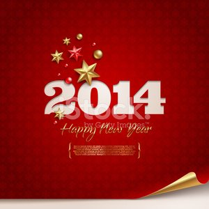 New Year's Day,New Year's Eve,2014,New Year,Holiday,Season,Greeting,Christmas Ornament,Symbol,Gold Colored,Backgrounds,Gold,Event,Ornate,Sign,Poster,Decor,Year,Sheet,Red,Winter,Time,Placard,Cut Out,Number,Curled Up,Text,Christmas Decoration,Calendar Date,Celebration,Ilustration,Eps10,Design,Vector,Banner,Decoration,Abstract,Pattern,Paper,Star Shape,Snowflake