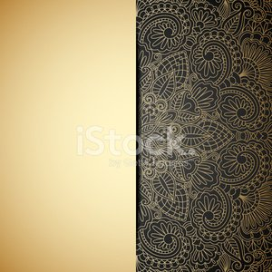 Holiday,Invitation,Luxury,Backgrounds,Greeting Card,Curled Up,Curve,Art,Baroque Style,Decoration,Old-fashioned,Dark,Lace - Textile,Victorian Style,Ornate,Elegance,Black Color,Pattern,filigree,Vector,Floral Pattern,Abstract,Arabic Style,Ilustration,Gold Colored