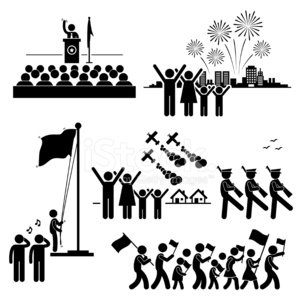 Symbol,Parade,Flag,Computer Icon,Firework Display,Army,Audience,Speech,Freedom,Government,People,Men,Police Force,Silhouette,Spectator,Group Of People,Day,Crowd,Airplane,President,Exhibition,Marching,National Landmark,Armed Forces,The Human Body,One Person,Sign,Cheerful,Event,Holiday,Vector,Celebration,Showing,Country - Geographic Area,Performance,Independence,Leadership,Government Minister,Happiness,Singing,Park - Man Made Space,Picking Up