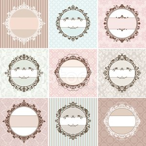 Picture Frame,Frame,Circle,Retro Revival,Crown,Old-fashioned,Wedding,Greeting Card,Silk,Invitation,Curve,Decoration,Nobility,Ornate,Pastel Colored,Flower,Victorian Architecture,Striped,Design Element,Swirl,Vector,Decor,Ceremony,Beauty,Pattern,Fashion,Set,Creativity,Elegance,Cute,Art,Beautiful,Collection,Computer Graphic,Abstract,Valentine Card,Anniversary,Design,Variation,Backgrounds,Valentine's Day - Holiday,Romance,Floral Pattern,Antique
