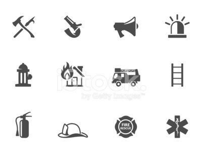 Firefighter,Symbol,Computer Icon,Icon Set,Fire - Natural Phenomenon,Office Interior,Emergency Services,Safety,Maltese Cross,Rescue,Urgency,Sign,Protective Workwear,Fire Hose,Ladder,Insignia,Megaphone,Hook,Vector,Work Helmet,Work Tool,Design,Fire Hydrant,savior,Ilustration,Monochrome,Water,Black And White,Fire Extinguisher,Protection,Occupation,Burning,Equipment,Flame,Siren,Axe,Gray,Single Color,Truck,Hat