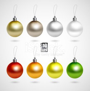 Christmas Ornament,Silver Colored,Silver - Metal,Orange Color,Christmas Decoration,Bronze,Green Color,Evening Ball,Vector,Set,Symbol,Christmas,Number 8,Design,Shiny,Hanging,Red,Gray,Glass - Material,Gold,Yellow,Multi Colored,Ilustration,Beige,Sphere,Holiday