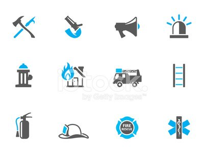Fire Hose,Firefighter,Siren,Sign,Computer Icon,Symbol,Fire - Natural Phenomenon,Hook,Axe,Ladder,Fire Extinguisher,Equipment,Urgency,Work Tool,Office Interior,Safety,Truck,savior,Megaphone,Protective Workwear,Blue,Fire Hydrant,Maltese Cross,Work Helmet,Rescue,Vector,Duotone,Protection,Flame,Insignia,Burning,Occupation,Emergency Services,Water,Ilustration,Icon Set,Design,Gray,Hat