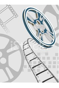 Film Reel,Movie Theater,Backgrounds,Entertainment,Business,Movie,Projection Equipment,Film Industry,Vector,Film,Ilustration,Spool