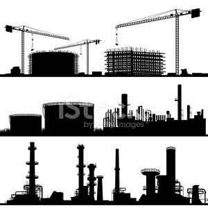 Crane - Construction Machinery,Back Lit,Silhouette,Factory,Construction Industry,Architectural Column,Construction Site,Power Station,Vector,Building - Activity,Industry,Borough Of Industry,Built Structure,Building Exterior,Oil Industry,Electricity,Power Line,Banner,Horizon,Refinerie,Horizon Over Land,Ilustration,Bookmark,City Life,Horizontal,Tower,Urban Scene,Power Engineering,Chimney,Set