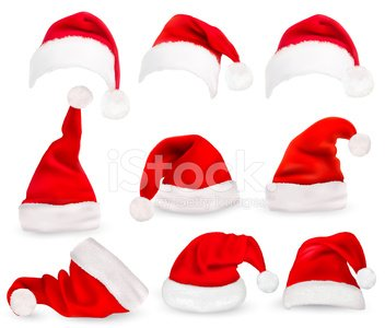 Santa Hat,Christmas,Hat,Vector,Santa Claus,Cap,Symbol,Backgrounds,Humor,Gift,Winter,Collection,Personal Accessory,Single Object,Multi Colored,Clothing,Close-up,Red,Cultures,Celebration,red hat,Season,Image