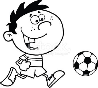 Ilustration,Drawing - Art Product,Child,Soccer Ball,Sport,Black And White,Happiness,Image Type,Humor,Cheerful,Vector Cartoons,Clip Art,Design,Joy,Digitally Generated Image,Cartoon,Image,Ball,Isolated On White,Illustrations And Vector Art,Characters,Vector,Smiling,Mascot,Painted Image,Computer Graphic