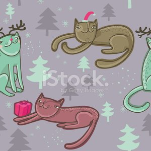 Green Color,Pets,Vector,Pattern,Domestic Cat,Snowflake,Winter,Kitten,Holiday,Cartoon,Seamless,Year,Abstract,Ilustration,Christmas Decoration,Celebration,Drawing - Art Product,Christmas,Cultures,New,Red,Animal,Season,Design,Gift,Humor,Happiness,Color Image,December,Wallpaper Pattern,Cute,Greeting Card,Backgrounds,Greeting,Party - Social Event