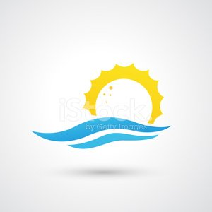 Sunrise - Dawn,Tide,Wave,Symbol,Sun,Morning,Vector,Sunlight,Abstract,Sea,Climate,Blue,Bright,Vacations,Nature,Sunset,Sunbeam,Energy,Summer,Flowing,Day,Light - Natural Phenomenon,Season,Tourism,No People,Splashing,Ilustration,Weather