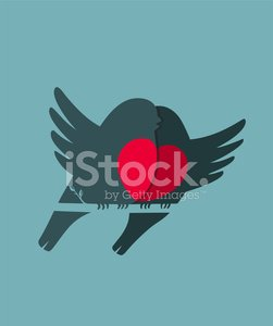 Love,Bird,Two Animals,Kissing,Bullfinch,Wing,Heart Shape,Sitting,Valentine's Day - Holiday,Romance,Cartoon,Cute,Loving,February,Dating,Animal,Branch,Blue,Flirting,Elegance,Painted Image,Pair,Red,Twig,Season,Drawing - Art Product,Style,Happiness,Computer Graphic,Beauty In Nature,Ilustration,Vector,Characters,Couple,Sparse,Design