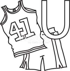Education,Sport,uppercase,sports attire,Number,Cut Out,Letter U,Group of Objects,Alphabet,No People