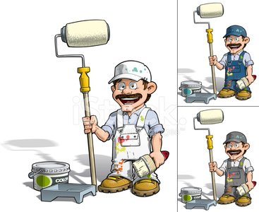Home Addition,House Painter,Painting,Building Contractor,Paint,Craftsperson,Cheerful,Ilustration,Job - Religious Figure,Colors,Can,Joy,Paint Roller,Repairman,Cartoon,Home Decorator,Car Bodywork,Paintbrush,Accessibility,Mascot,Construction Industry,Multi Colored,Manual Worker,Occupation,Bucket,Uniform,Happiness,Baseball Cap,Sketch,Home Improvement,Characters,Construction Worker,Smiling,Maintenance Engineer