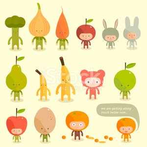 Food,Child,Characters,Cartoon,Apple - Fruit,Cute,Rabbit - Animal,Bear,Carrot,Banana,Vector,Onion,Offspring,Orange - Fruit,Broccoli,Healthy Lifestyle,Dreamlike,Pear,Cheerful,Costume,Smiley Face,Friendship,Happiness,Smiling,Talking,Eggs,Ilustration,Symmetry,Fantasy,Summer,Leaf,Nature,Springtime,Orange Color,Green Color,Modern,Sweet Food,Mystery,Spooky,Animal Egg,Standing,Day,Yellow,Brown,Shadow,Staring,Illustrations And Vector Art,Concepts And Ideas,Character Traits,Vector Cartoons,Fruits And Vegetables,carved letters,Food And Drink