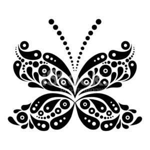Butterfly - Insect,Tattoo,Vector,Ornate,Summer,Flower,Ilustration,Decoration,Fashion,Retro Revival,Silhouette,Floral Pattern,Painted Image,Design Element,Glamour,Fantasy,Curve,Beauty,Shape,Magic,Pattern,Beautiful,Black Color,Drawing - Art Product,Elegance,Abstract,Fly,Springtime,Insect,Youth Culture,Fairy Tale,Computer Graphic,Wing,Spinning,Symbol,Leaf,White,Circle,Creativity,Isolated,Old-fashioned,Design,Nature,Style,Flowing
