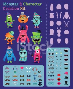 Characters,Personal Accessory,Hipster,Design Element,Halloween,Human Mouth,Monster,Computer Icon,Alien,Eyeglasses,Bow Tie,Cheerful,Horned,Avatar,Set,Bizarre,Sunglasses,Cartoon,Heart Shape,Collection,Fun,Hat,Variation,Creativity,Multi Colored,Ilustration,Holiday,Cute,editable,Isolated,Vector,Vibrant Color,Birthday,Design,Mustache,Human Lips,customizable