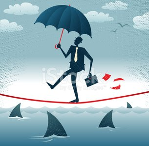 Risk,Balance,Business,Umbrella,Shark,Tightrope,Danger,Insurance,Businessman,Rope,Manager,White Collar Worker,Protection,Emotional Stress,Control,Acrobat,Occupation,Courage,Hat,Fear,Covering,High Up,Job - Religious Figure,Circus,Vector,Professional Occupation,Cartoon,Suit,Concepts,People,Walking,Weight,Briefcase,Wire,Ideas,Abstract,Urgency,Ilustration,Intelligence,Adventure,Painted Image,Above,Retro Revival,Planning