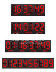 Stopwatch,Digital Display,Number,Timer,Countdown,Alarm Clock,Accuracy,LED,Time,Electronics Industry,Equipment,Isolated,Month,Clock,Sign,Industry,Vector,Symbol,Watch,Retail Display,Year,Business,Computer,Number 2,Electrical Equipment,Electricity,Ilustration