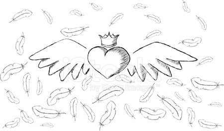 Wing,Drawing - Activity,Sketch Restaurant,Sketch,Angel,Drawing - Art Product,Image,February,Rough,Pin Feather,Ink,Angle,Bird,Design,Flying,Holiday,Painted Image,Ilustration,Vector,White Background,Romance,Heart Shape,Pencil Drawing,Love,Abstract,White,Design Element,Elegance,Horizontal,Feather,Dating,Symbol,Passion,Curve,Feather,Flirting,Swirl,Valentine's Day - Holiday,Cartoon,Greeting,Art,Decoration