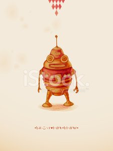 Steampunk,Robot,Alien,Education,Ilustration,Play,Single Object,Retro Revival,Toy,Engineering,Vector,Watercolor Paints,Red,Drawing - Art Product,Leisure Games,Eps10,Animal,Childhood,Machine Part,Old-fashioned,Cute