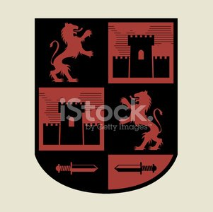 Castle,Tower,Symbol,Coat Of Arms,Lion - Feline,Nobility,Sign,Silhouette,Shield,Mythology,Griffin,Insignia,Animal,Sword,Badge,Sovereignty,Label,Vector,Spirituality,heraldic,Design,Classic,Medal,Vitality,Majestic,Medieval,Gothic Style,Religion,Power,Mystery,Drawing - Art Product,Decoration,Cultures,blazon