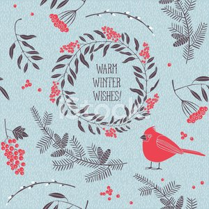 Pine Tree,Branch,Pine,Christmas,Winter,Wreath,Pattern,Pine Cone,Ornate,Berry Fruit,Tree,Snow,Snowflake,Decoration,Berry,Wood - Material,Non-Urban Scene,Symbol,Red,Holiday,Frame,Seamless,Backgrounds,Bird,Twig,Old,Vector,Nature,Old-fashioned,Cardinal,Text,Animal Themes,Humor,Design,Ilustration,Outdoors,Rowanberry,December,Greeting,Cone,Season,Wing,Decor,Rowan Tree