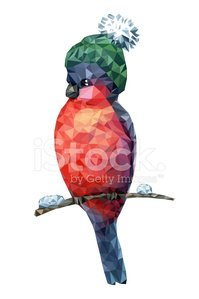 Vector,Ilustration,Wildlife,Cheerful,Green Color,Bird,Snow,Design,Multi Colored,Winter,Creativity,Triangle,Isolated,Christmas,Bullfinch,Computer Graphic,Hat,Cap,New Year's Eve,Cute,Nature,Colors,Red,Branch,Animal,Symbol,Season,Bob,Vibrant Color,Color Image,on white background,Pom-Pom,Single Object,Characters,Holiday,Isolated On White