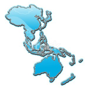 Asia Pac,Map,Asia,Pacific Ocean,Cartography,Asian Ethnicity,Australia,Japan,New Zealand,World Map,Outline,Island,Non-Urban Scene,Land,East,Vector,Sea,Rural Scene,Turquoise,Blue,Travel,Illustrations And Vector Art,vector map,Bodies Of Water,Nature