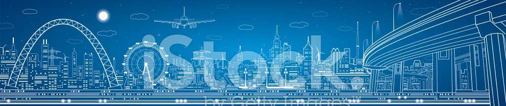 Energy Efficiency,Power Supply,Wind Turbine,Business,Bridge - Man Made Structure,City,Electricity,Road,Technology,Architecture,Resourceful,Urban Skyline,Industry,Moon,Town,Design,Wheel,Art,Vector,In A Row,Energy,Overpass,Neon Light,Panoramic,vector art,Illuminated,Night,Built Structure,Blue,Construction Frame