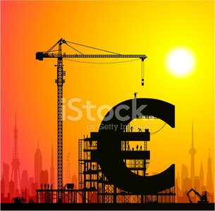 European Union Currency,Euro Symbol,Finance,Currency,Construction Industry,Construction Site,Built Structure,Crane - Construction Machinery,Building - Activity,Investment,Vector,Savings,Business,People,Making,Ladder,Truck,Women,Silhouette,Scaffolding,Making Money,Architecture,Men,City,Working,Paying,Urban Skyline,Success,Forklift,Building Exterior,Wealth,Urban Scene,Sunset,Construction Worker,Tower,Back Lit,Land Vehicle,Cityscape,Ilustration,Bank Account