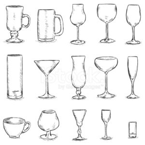 Martini Glass,Champagne Flute,Sketch,Ilustration,Beer Glass,Martini,Symbol,Cocktail,Wineglass,Highball Glass,Drink,Alcohol,Alcohol,Vector,Beer Bottle,Beer - Alcohol,Outline,Shot Glass,Single Object,penciling,Hand Draw,Crystal,Cognac Balloon,Celebration,Design Element,Image,Domestic Life,Modern,Abstract,Sign,Sherry Glass,Shape,Clip Art,Hurricane Glass,Irish Coffee Glass,Doodle,Silhouette,Vodka Glass