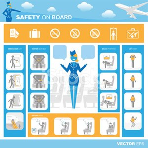 Airplane,Safety,Oxygen Mask,Instructions,Air Stewardess,Airport Security,Airport,Emergency Exit,Medical Oxygen Equipment,Symbol,Boarding,Communication,Passenger,Journey,Fastening,Travel,Vehicle Seat,Belt,Metal Detector,Passport,Landing - Touching Down,Icon Set,Vector,Instruction Manual,Luggage,Medical Procedure,Emergency Sign,Life Jacket,Forbidden,No Smoking Sign,Baby,Advice,Stick Figure