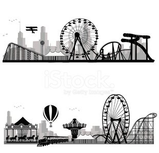 Traveling Carnival,Traditional Festival,Silhouette,Ferris Wheel,Back Lit,Carnival,Amusement Park,Ilustration,Rollercoaster,Fun,Merry-Go-Round,Amusement Park Ride,Enjoyment,Adventure,Circus,People,Train,Family,Urban Skyline,Black And White,Carousel,Steep,Spinning,Recreational Pursuit,Outline,Entertainment,Hot Air Balloon,Holiday,Isolated,Loopable,Leisure Activity,Design Element,Relaxation,Computer Graphic,Park - Man Made Space,Happiness,Vector,Playing,Excitement,High Up,Copy Space,Design,Vacations,Childhood,Cheerful