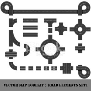 Traffic Circle,Footpath,Motor Racing Track,Pedestrian,Highway,Tree,Railroad Track,Model Kit,Street,Town,Cross Section,Road Intersection,Thoroughfare,Asphalt,Guidance,Car,Set,The End,Transportation,Vector,Traffic,Sign,Crossroad,Circle