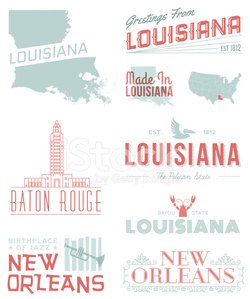 New Orleans,Louisiana,Crayfish,Crayfish,Baton Rouge,Swamp,Urban Scene,Banner,Ribbon,Map,Placard,Cartography,Retro Revival,Pelican,Jazz,State Capitol Building,Trumpet,Travel Destinations,Vector,Decoration,City,Copy Space,Frame,Text,Badge,Collection,Tourism,Red,USA,Label,Travel,Famous Place,Design Element,Typescript,Design,Turquoise,1940-1980 Retro-Styled Imagery,Wrought Iron