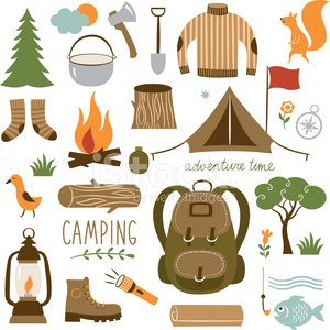 Camping,Lantern,Parking,Picnic,Hiking,Fishing,Equipment,Compass,Axe,Backpack,Design Element,Cooking Pan,Ilustration,Exploration,Fish,Fire - Natural Phenomenon,Leisure Activity,Shovel,Vacations,Adventure,Symbol,Bonfire,Computer Icon,Forest,Label,Outdoors,Computer Graphic,Travel,Tourism,Tent,Set,Summer,Boot,Vector,Firewood,Tree,Sign,Sweater,People Traveling