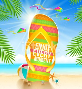 Flip-flop,Fun,Summer,Sunlight,Tropical Climate,Beach,Kite - Toy,Sun,Ball,Clothing,Blue,Outdoors,Sandal,Water's Edge,Sea,Typescript,Ilustration,Branch,Cockleshell,Entertainment,Nature,Greeting,Multi Colored,gigantic,Flying,Resting,Relaxation,Travel,Tourist Resort,Vacations,Starfish,Travel Destinations,Journey,Seascape,Eps10,Vector,Palm Tree,typographic,Shoe,Rubber,Large,Animal Shell