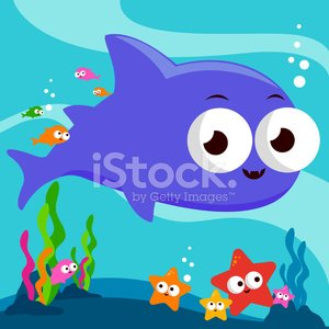 Clip Art,Cute,Ilustration,Cartoon,Swimming Animal,Summer,Fish Tank,Animal,Group Of Animals,Blue,Nature,Seaweed,Sea Life,Coral,Bubble,Water,Multi Colored,Tropical Fish,Aquarium,Aquatic,Vacations,Ocean Floor,Cheerful,Tropical Climate,Vector,Shark,Fish,Starfish,Underwater,Sea,Toy Shark,School of Fish