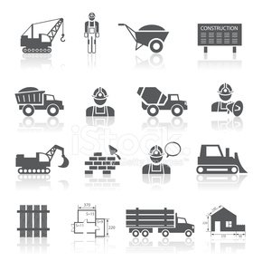 Cement,Computer,Blueprint,Equipment,Work Tool,Bulldozer,Crane - Construction Machinery,Flat,Vector,Communication,Land Vehicle,user,Engineering,Technology,Touching,Hammer,Web Page,Manual Worker,Building - Activity,Truck,Construction Industry,Industry,Concrete,Architecture,Application Software,Ilustration,City,Isolated,Urban Scene,Interface Icons,Marketing,Design Element,Sign,Electric Mixer,Set,Connection,Collection,Internet,Icon Set,Shovel,Business,Symbol