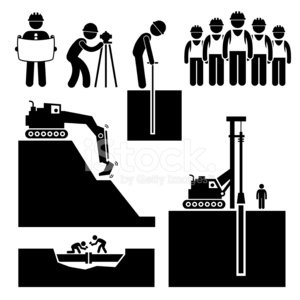 Stick Figure,Construction Industry,Manual Worker,Surveyor,Symbol,Computer Icon,White Collar Worker,Teamwork,Team,Construction Worker,Oil Rig,Industry,Land,Wooden Post,Planning,Engineer,Built Structure,Building - Activity,Stack,Building Exterior,Civilian,Construction Site,Dirt,Occupation,Working,Pipeline,Earth Mover,Vector,Repairing,Preparation,Silhouette,Hill,Pipe - Tube,Group Of People,Cartoon,The Human Body,Development,Building Contractor,Scientific Experiment,Group of Objects,One Person,Architecture,Job - Religious Figure,Men,People,Machinery,Employment Issues