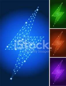 Energy,Togetherness,Connection,Fuel and Power Generation,Technology,Computer,Lightning,Triangle,Bolt,Electricity,Green Color,Red,Warning Sign,Empty,Power Line,Purple,Sparse,Electronics Industry,Network Server,Blue,Simplicity,Zapping,Communication,Set,Danger,Pattern