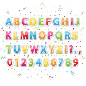 Alphabet,Child,Fun,Typescript,Baptismal Font,Text,Poster,Set,Label,Happiness,Cartoon,Pattern,Alphabetical Order,Tinsel,Education,Celebration,typographic,Confetti,Holiday,Backgrounds,Collection,Symbol,Scrapbook,Multi Colored,Abstract,Paper,Modern,Computer Graphic,Cute,Painted Image,Textured Effect,Single Word,Vector,Star Shape,Colors,Ilustration,Vibrant Color,Isolated