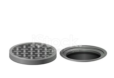 Sewer,Sewage,Sewage Treatment Plant,Manhole,Hole,Ilustration,Gray,White,Vector,Man Made Object,Clip Art,Business,Street,Steam,Covering,Road,Textured Effect,Old,Drinking Water,Textured,Rain,Shape,Single Object,Steel,Car,People,Metal Grate,Water,Working,Iron - Metal,Sidewalk