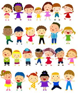 Preschooler,School Children,Child,Ethnic,Group Of People,Standing,Ilustration,Childhood,African Descent,Lifestyles,one two three four,Smiling,Laughing,Vector,Little Girls,Togetherness,Joy,aciculum,Multi-Ethnic Group,Cheerful,Small,Little Boys,Happiness