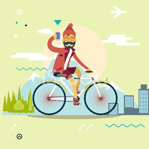 Bicycle,Cycling,Motion,Hipster,Fun,Summer,The Human Body,Outdoors,Amusement Park Ride,Transportation,Wheel,Activity,Vector,Relaxation,Healthy Lifestyle,Flat,Planning,Vacations,Journey,Concepts,Lifestyles,Computer Icon,Exploration,Travel,Sport,Telephone,Cycle,Young Adult,Adventure,Recreational Pursuit,Shape,Symbol,Men,Action,Cyclist,Exercising,Forest,On The Move,Nerd,City,Modern,Ilustration,template,Design,Enjoyment