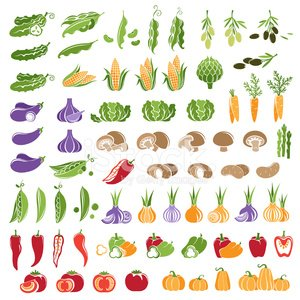 Lettuce,Corn - Crop,Computer Icon,Corn,Vegetable,Agriculture,Cabbage,Sign,Carrot,Organic,Asparagus,Bean,Pumpkin,Decoration,Artichoke,Green Pea,Market,Multi Colored,Refreshment,Freshness,Garlic,Computer Graphic,Edible Mushroom,Vegetarian Food,Isolated,Ripe,Merchandise,Growth,Design Element,Shape,Ornate,Olive,Onion,Tomato,Food,Set,Pepper - Vegetable,Crop,Raw Food,Cucumber,Raw Potato,Healthy Eating,Eggplant,Collection,Paprika,Ingredient,Farm,Design