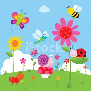 Ladybug,Ornamental Garden,Young Animal,Animated Cartoon,Characters,Cute,Insect,Butterfly - Insect,Bee,Animal,Fun,Flower,sunny day,Funky,Ant,Nature,Childhood,Vector,Beauty In Nature,Life,Grass,Cloud - Sky,Smiling,Cheerful,Set,Dragonfly,Collection,Ilustration,Snail