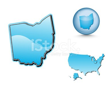 Ohio,state,Map,Midwest USA,Cartography,USA,Shiny,Blue,North America,Land,Rural Scene,Sea,vector map,Ohio Map,Modern,Usa Map,Travel,Illustrations And Vector Art,Non-Urban Scene,Ilustration,Sphere,Turquoise